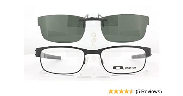 309899c40ab Amazon.com  OAKLEY METAL PLATE 53X18 POLARIZED CLIP-ON SUNGLASSES (Frame  NOT Included)  Health   Personal Care