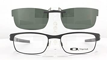 678ec14041 Amazon.com  OAKLEY METAL PLATE 53X18 POLARIZED CLIP-ON SUNGLASSES ...