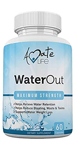 Water Pills for Bloating and Reduce Water Retention - Water Retention Pills for Women and Men- Bloating Relief - Natural Detox Dietary Capsules- Non-GMO Natural Healthy Diet by Amate Life (Safe Over The Counter Diet Pills Fda Approved)