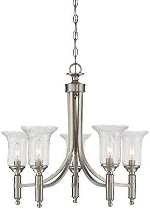 Savoy House 1-7130-5-SN Trudy 5-Light Chandelier in Satin Nickel