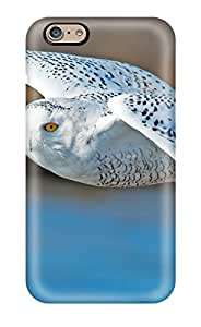 New Style High Grade Flexible Tpu Case For Iphone 6 - Snowy Owl