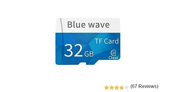 Daliuing Tarjeta Micro SD de 32 GB 10 Clase 90MB / s Tarjeta de ...
