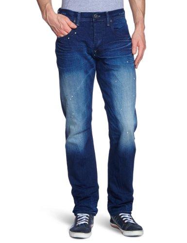 G-Star - Vaqueros straight para hombre Azul (Medium Aged 071)