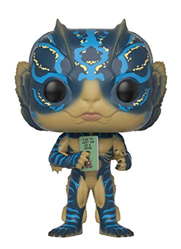 Funko Pop Movies: Shape of Water Amphibian Man with Card Collectible Figure, Multicolor