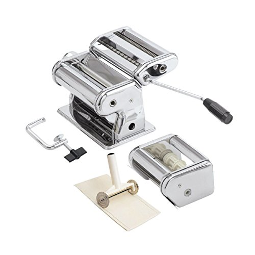 Meglio AEUPRM01 Ultra Pasta, Ravioli Maker and Cutter, Stainless Steel by Meglio