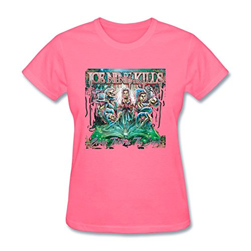 samseph-womens-ice-nine-kills-every-trick-in-the-book-t-shirt-size-m-pink
