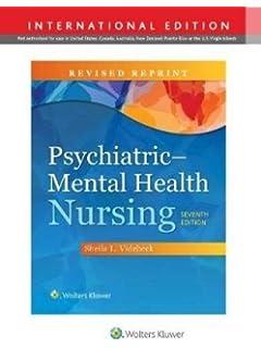 Psychiatric Mental Health Nursing Sheila L Videbeck Phd Rn