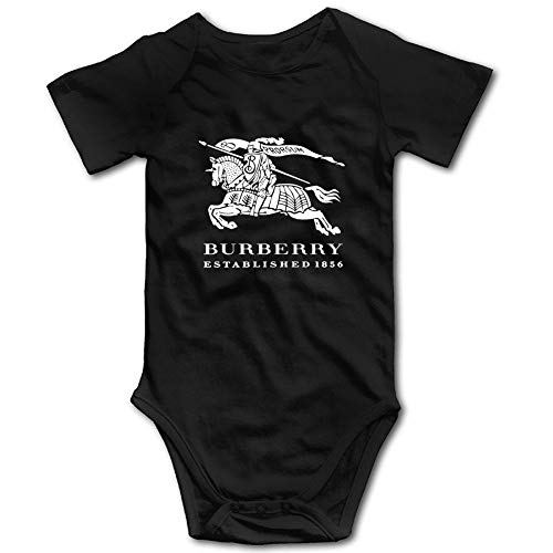 - Cala-Burberry-Ziko Unisex Baby Infant Luxury Brand Inspired Design Onesies Bodysuit Romper