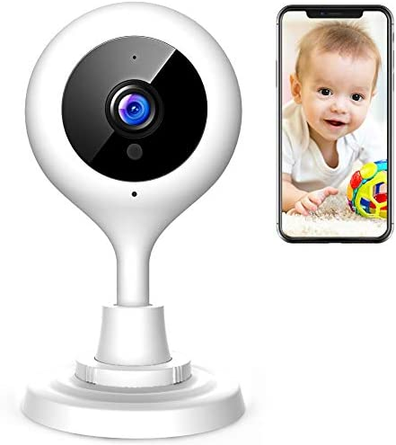 APEMAN Baby Monitor WiFi Camera 1080P FHD Home Security Camera with Night Vision Sound Motion Detection 2-Way Audio for Baby Elder Pet Compatible with iOS Android