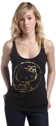 Mighty Fine Juniors Hello Kitty Golden Child Tank Top