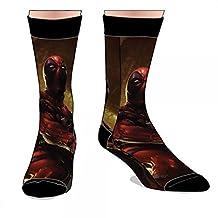 Crew Sock - Marvel - Deadpool Sublimated New Licensed cr2d55mvu