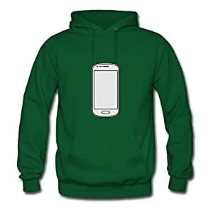 Smartphone Style Personality Hoodies Green X-large Green Michott Print