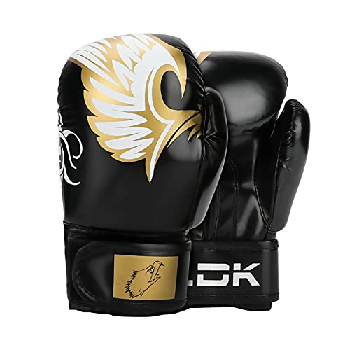 Mystery Kids Girls Boys Boxing Gloves, 6oz Leather Youth Boxing Gloves for Kids 7-16 Thicken Protective Kickboxing…