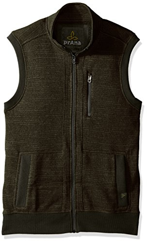 - prAna Men's Performance Fleece Vest, Small, Dark Olive