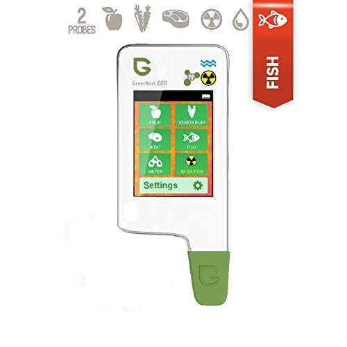 Greentest Eco5F All-In-One Food Nitrate Checker (Meat, Fruit, Fish & Vegetable) + Radiation Detector + Water TDS Meter