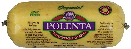 Food Merchants, Organic Polenta, Sundried Tomato Garlic, 18 oz Sleeve by Food Merchants
