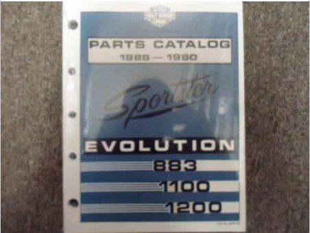 1988 1989 Harley Davidson Sportster Evolution Models Parts Catalog Manual NEW x