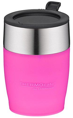 térmica Café by Thermos Adultos Desk Cup – Vaso, Acero Inoxidable Rosa 0, 25