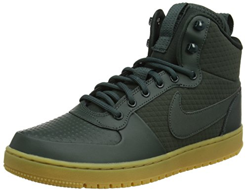 Nike Men's Court Borough Mid Winter Shoe Outdoor Green/Black Size 10.5 M US