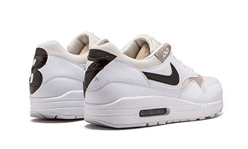 Nike Air Max 1 Prm, Zapatillas de Deporte Para Hombre Blanco (White / Black-Phantom)