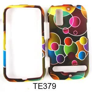 Snap on Cover Faceplate for Sprint & U.S. Cellular Motorola Photon 4G & Electrify Colorful Bubbles