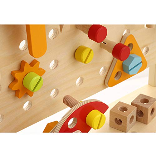 ZYN Children's Tool Chair Puzzle Hand Toy Large Screw Cap Combination Packages by ZYN (Image #6)