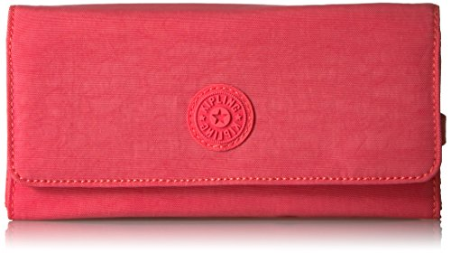 New Teddi Solid Snap Wallet Wallet, PAPAYAORNG, One Size by Kipling