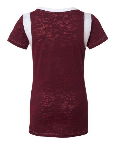Juniors Burnout T-Shirt - 8