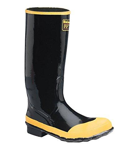 "Black Economy Boot Knee (LaCrosse Men's Economy Knee 16"" Steel Toe Work Boot,Black,11 M US)"