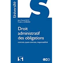 Droit administratif des obligations (Université) (French Edition)