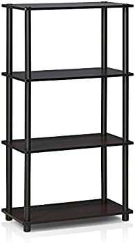 Furinno Turn-N-Tube 4-Tier Multipurpose Shelf Rack