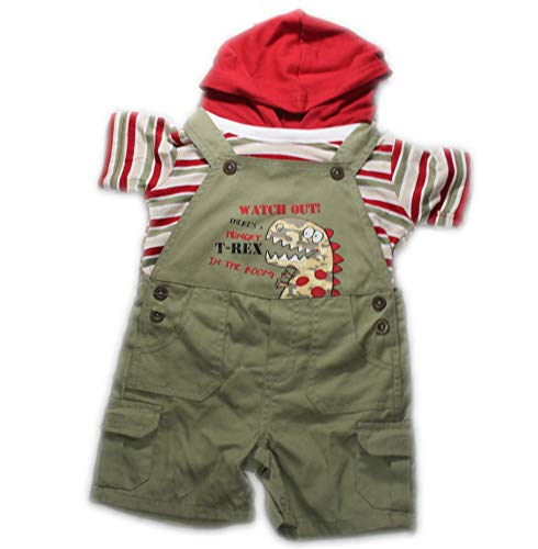 b.t Kids 18 Month 2 PC Set Sage and (Bt Kids Overalls)