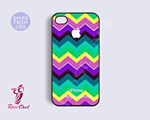 Colorful Chevron Iphone 5c case, iphone 5c covers - Colorful pattern Lovely A...
