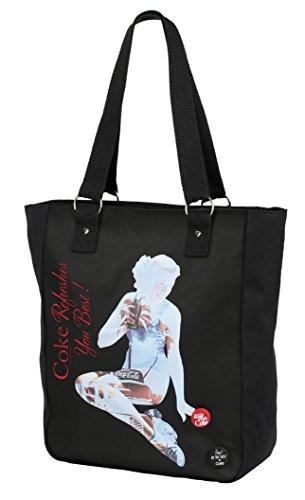 Coca Cola Shoulder Bag, black (black) - 737674-26