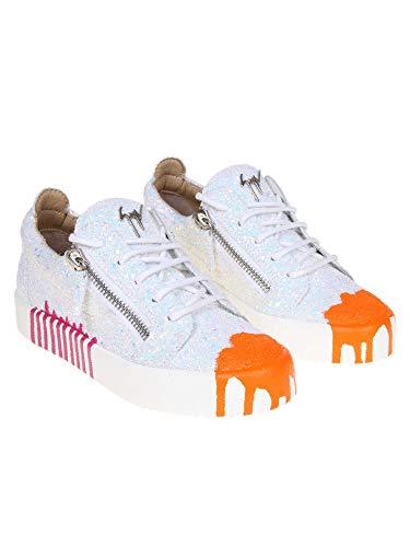 Multicolore Femme Cuir Zanotti Giuseppe Baskets Rs90006001 Design wIE86xqP