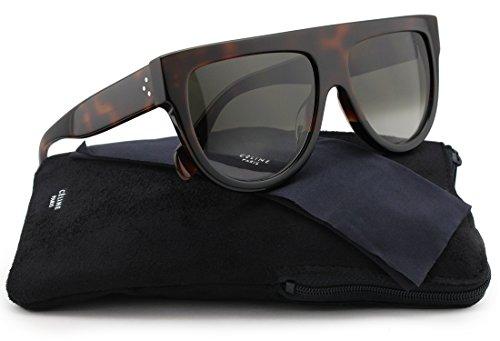 1d168f5878a Celine 41026 S Sunglasses Havana Brown w Brown Gradient (0AEA) 41026 ...