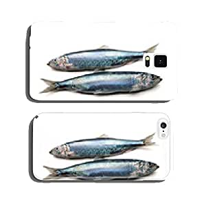 Herring from the Baltic Sea on a white background cell phone cover case Samsung S6
