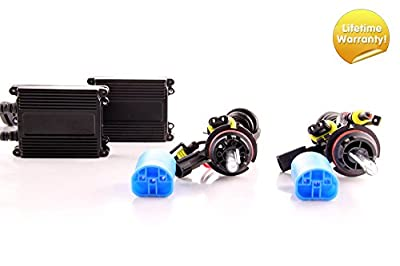 DDM Tuning 35W Xenon HID Conversion Kit Kit, Lifetime Warranty, All Bulb Types and Colors