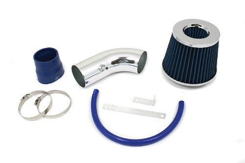 01 02 03 04 05 Hyundai Accent 1.6L Short Ram Intake Blue (Included Air Filter) #SR-HY1B