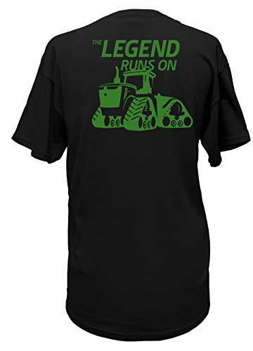 John Deere Limited Edition 100th Anniversary Tractor Legend T-Shirt-Large - Anniversary Tractor