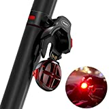 Bike Tail Light Smart Brake Sensing Bicycle Tail Light USB Wireless Rechargeable Waterproof Cycling Safety Easy Install Release Mountain/Road Bike