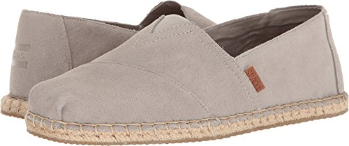 TOMS Men's Seasonal Classics Drizzle Grey Suede/Blanket Stitch 11 D US