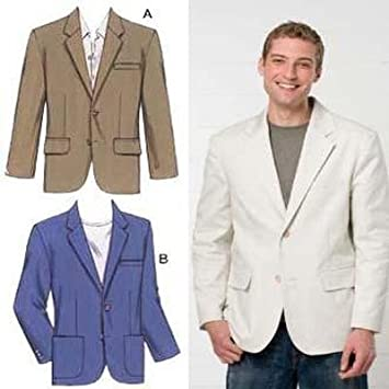 Amazon Kwik Sew Men's Blazers Pattern Fascinating Mens Blazer Pattern