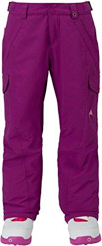 Burton Girls' Elite Cargo Snow Pant, Grapeseed W18, Medium