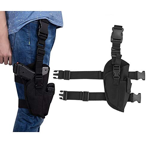 US Adjustable Tactical Drop Leg Pistol Holster Right Hand Thigh Gun Holster