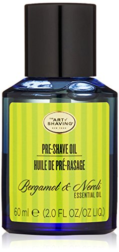 The Art of Shaving Pre-Shave Oil, Bergamot & Neroli, 2.0 fl. oz. (Shaving Lemon Essential Oil)