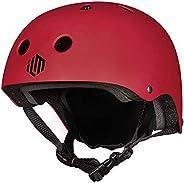 ILM Skateboard Helmet Impact Resistance Ventilation for Skateboarding Scooter Outdoor Sports
