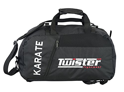 - TWISTER FIGHT WEAR Karate Backpack for Gym School Travelling Any Sports (SMALL60x30x30)