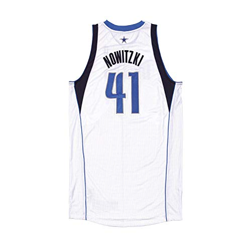 Dirk Nowitzki Game Worn Jersey from 1/13/2012 vs the Milwaukee Bucks in Which Nowitzki Scored his 23,000th Point ~Limited Editiion 1/1~ - Panini Authentic - Panini Certified