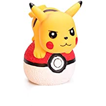 YOURNELO Cartoon Cute Safe Shatter-Resistant Pokemon Go Ball Pikachu Toy Bank Money Box Coin Piggy Bank for Boys Girls (A 3)